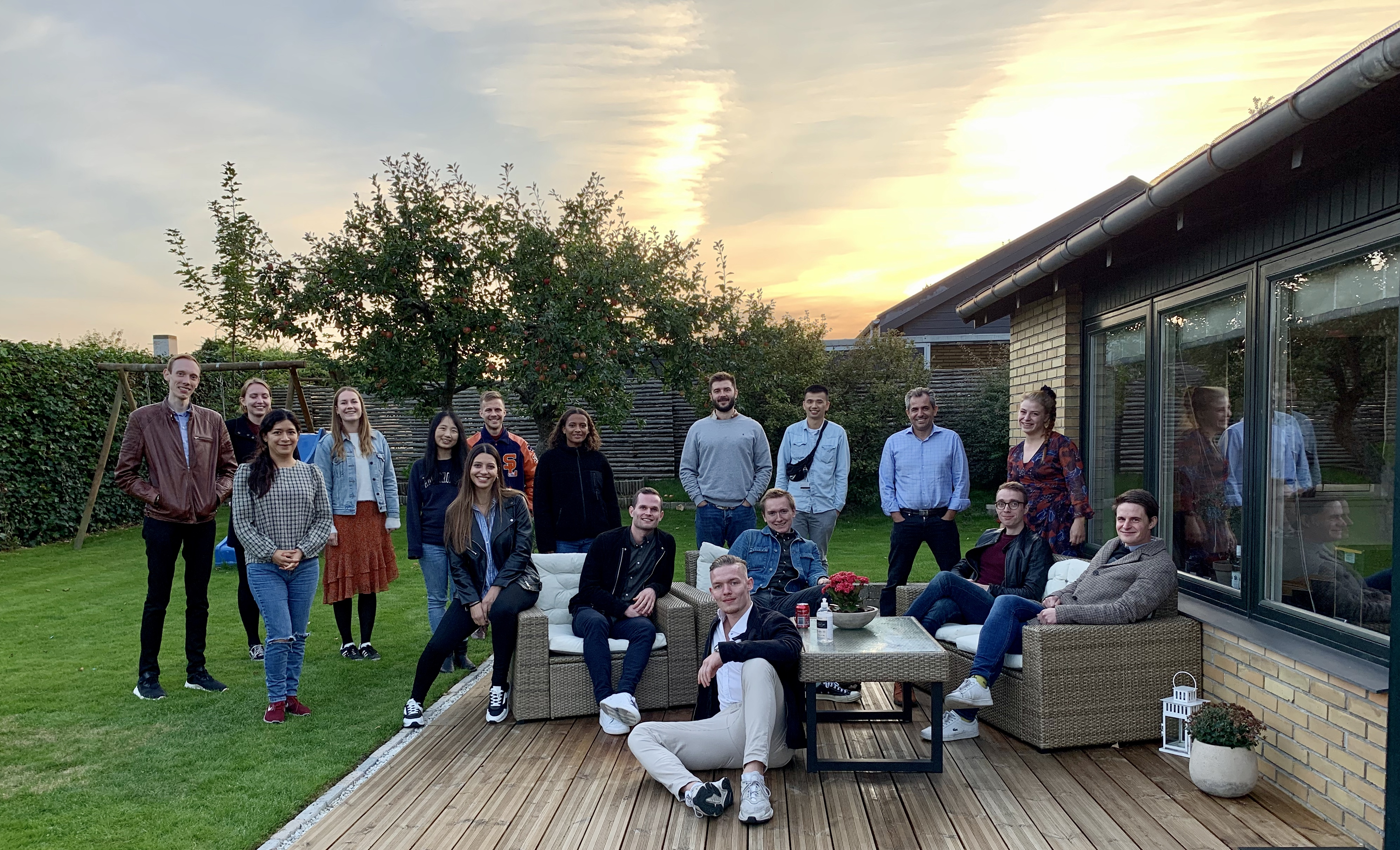 Annual BBQ, celebrating another year of great work!